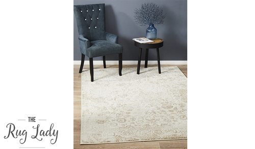 Opal Cream Ornate Rug