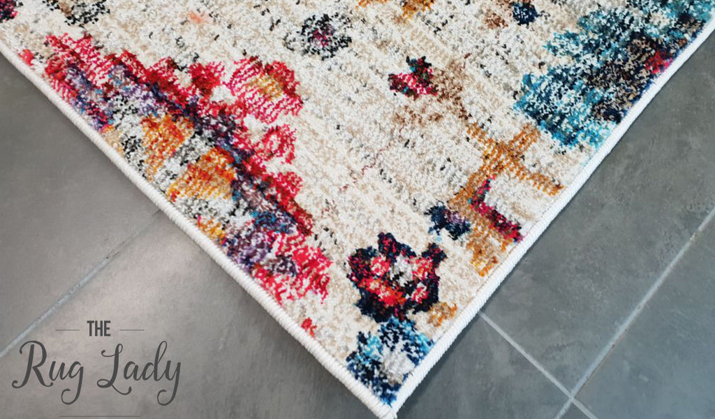 Ophelia Multicoloured Floral Rug