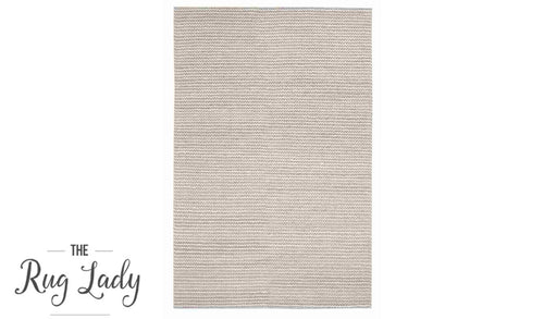Artiste Natural Grey White Braided Flat Weave Rug