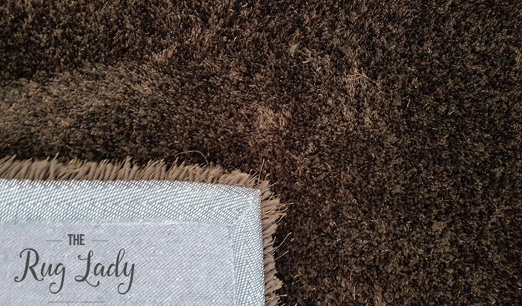 Obbo Brown Shaggy Rug