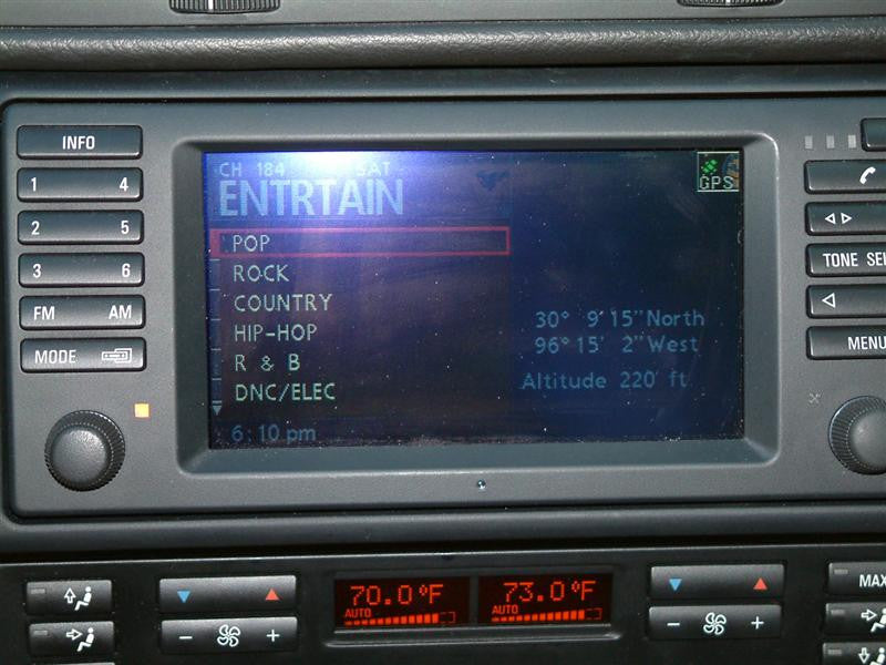 Bmw Navigation Sirius Amp Auxiliary Audio Retrofit