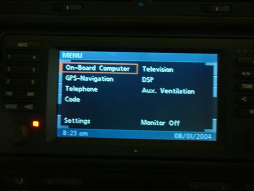 How to operate BMW MKIV Navigation Destinations