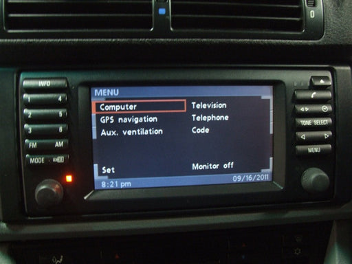 BMW Widescreen Display Retrofit Instructions