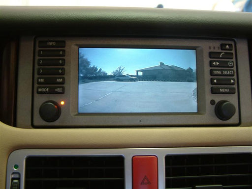 Upgrading the 2003-2004 Range Rover with Television and Backup Camera