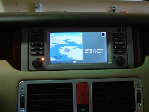 Upgrading the Nav System in the 2003-2004 Range Rover