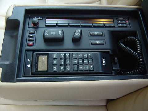 BMW E38 Rear Phone System