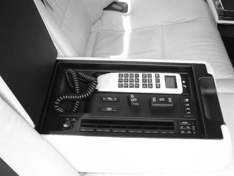 BMW E38 Rear Telephone system