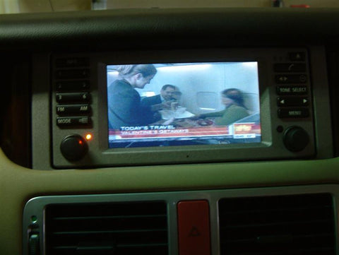 Upgrading The 2003 2004 Range Rover With Television And