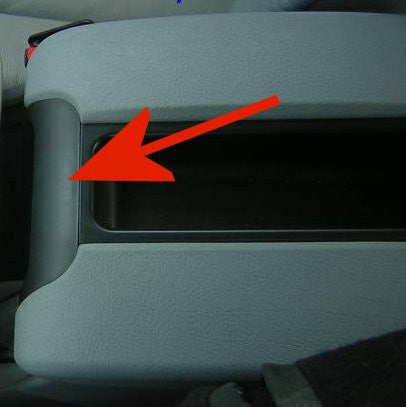 BMW Replacement Arm Rest Trim Piece