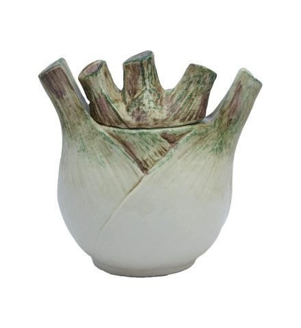Italian Ceramic Fennel Jar