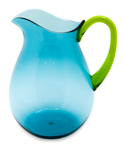 Two-tone Morelli Jug ~ Marina Blue Lime