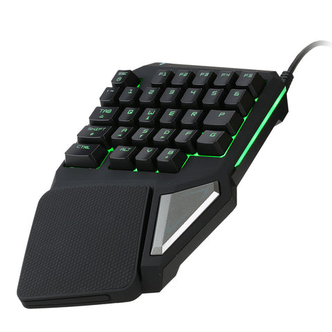 Dotech T9 Pro Single Hand Gaming Keyboard