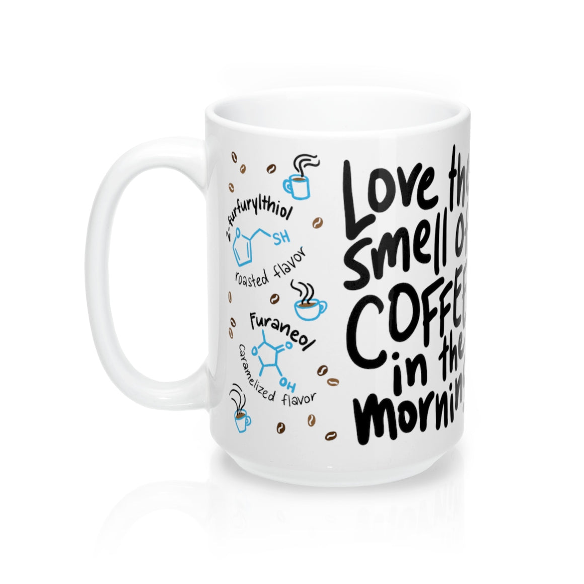 Coffee Love Chemistry Mug