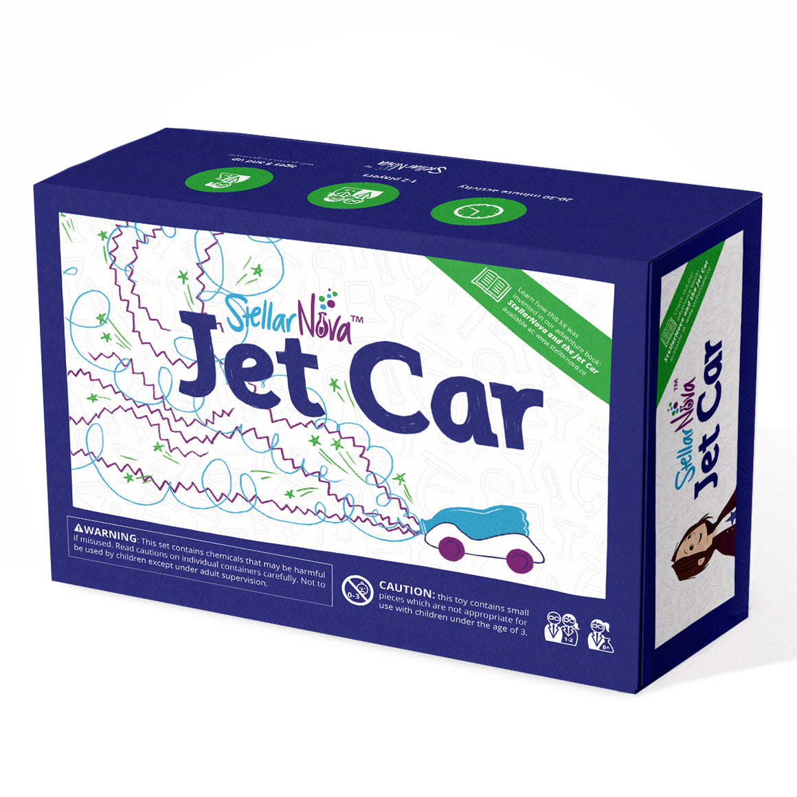 Jet Car Collection (Book+Kit)