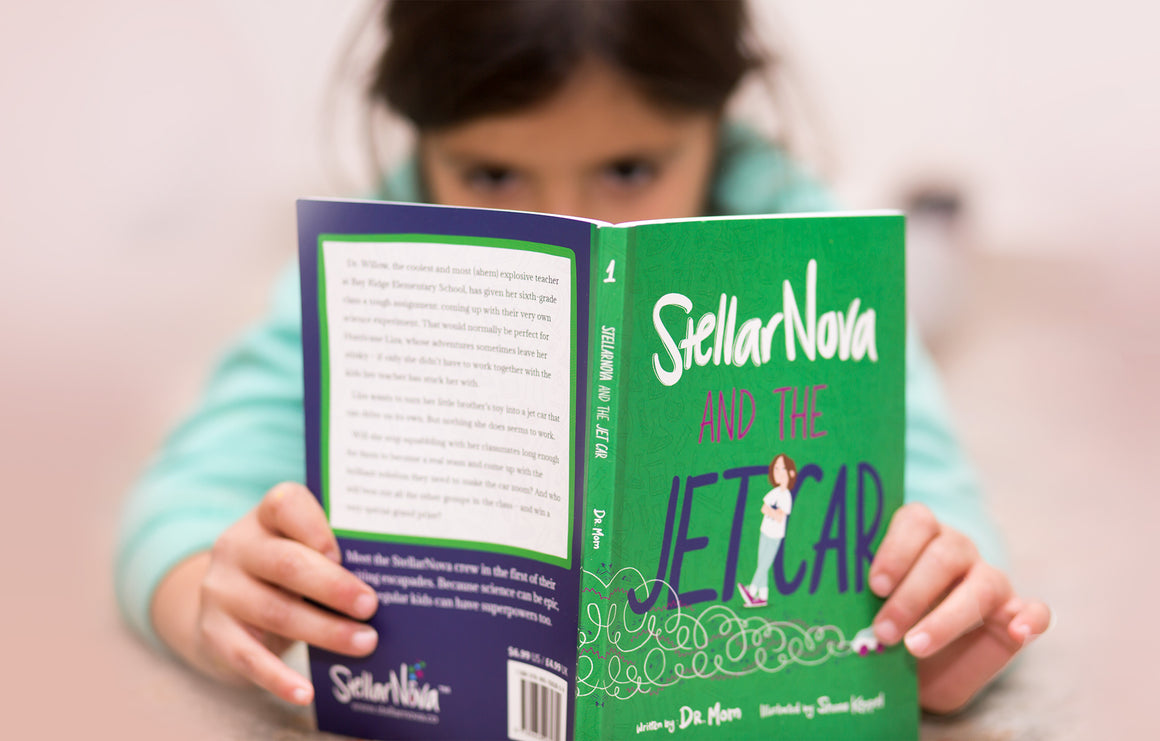 Science can be epic. Get the StellarNova Book