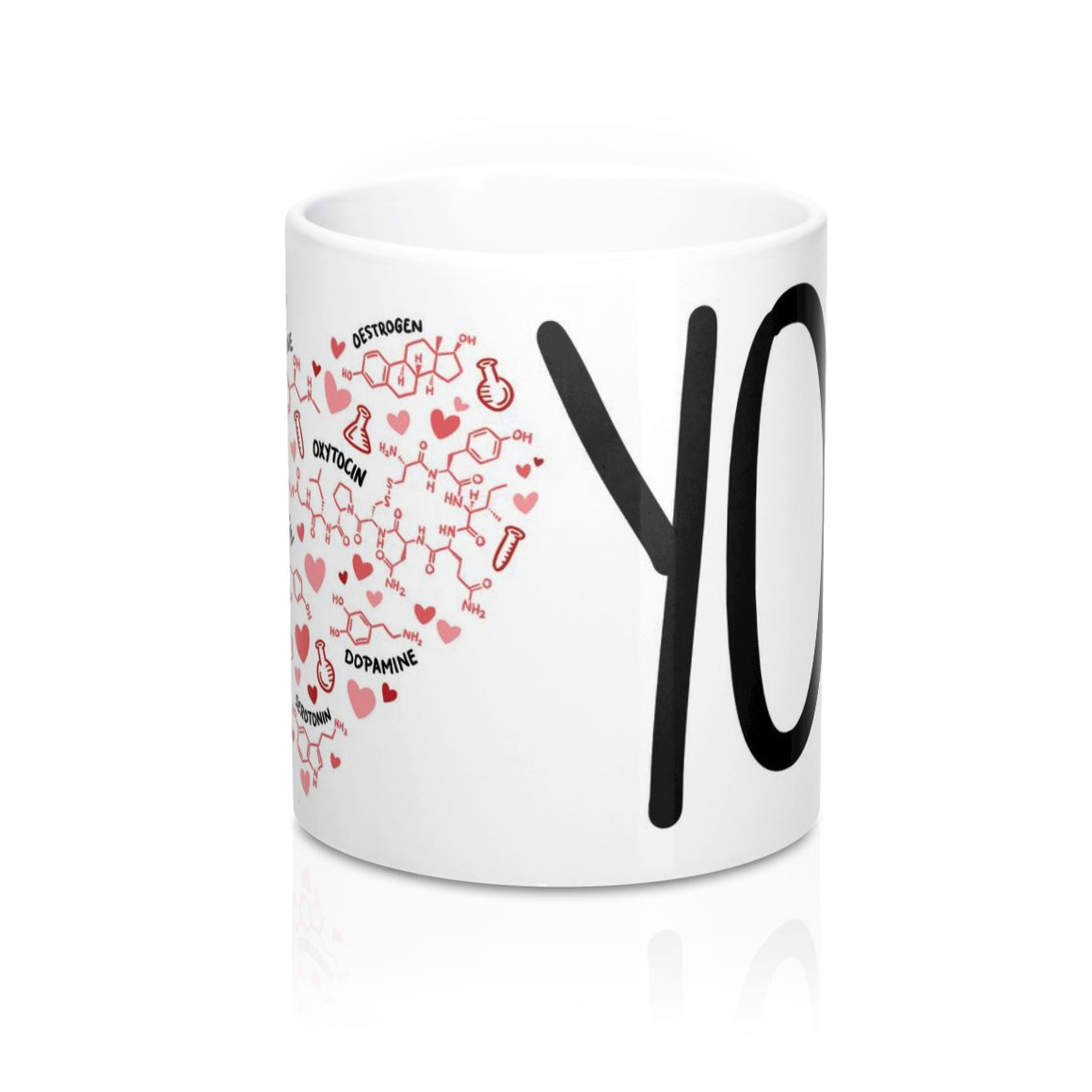 Science of Love Mug - 11oz