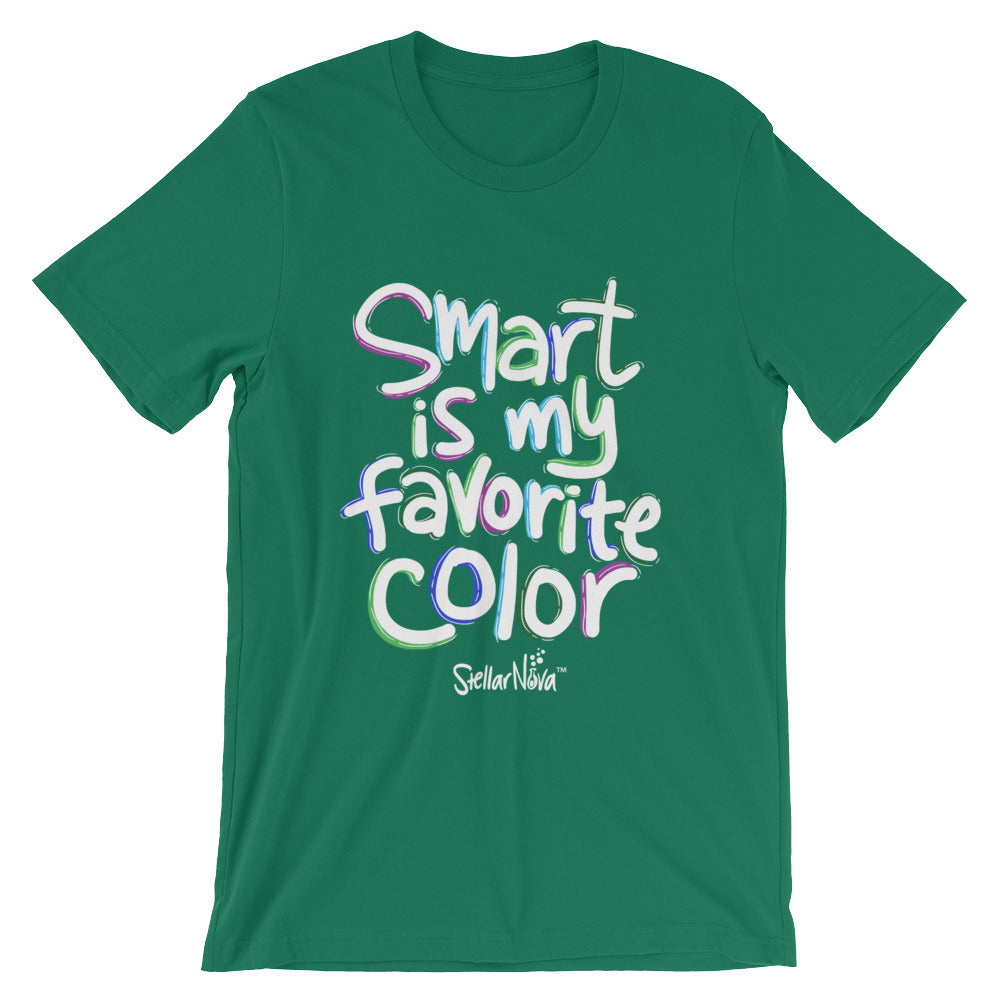 T-Shirt - Smart is my Favorite Color - Adult
