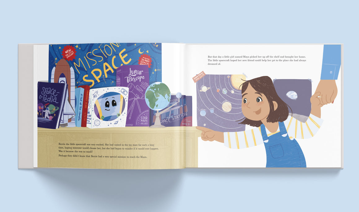 The Little Spacecraft - spaceship - SpaceIL kids book