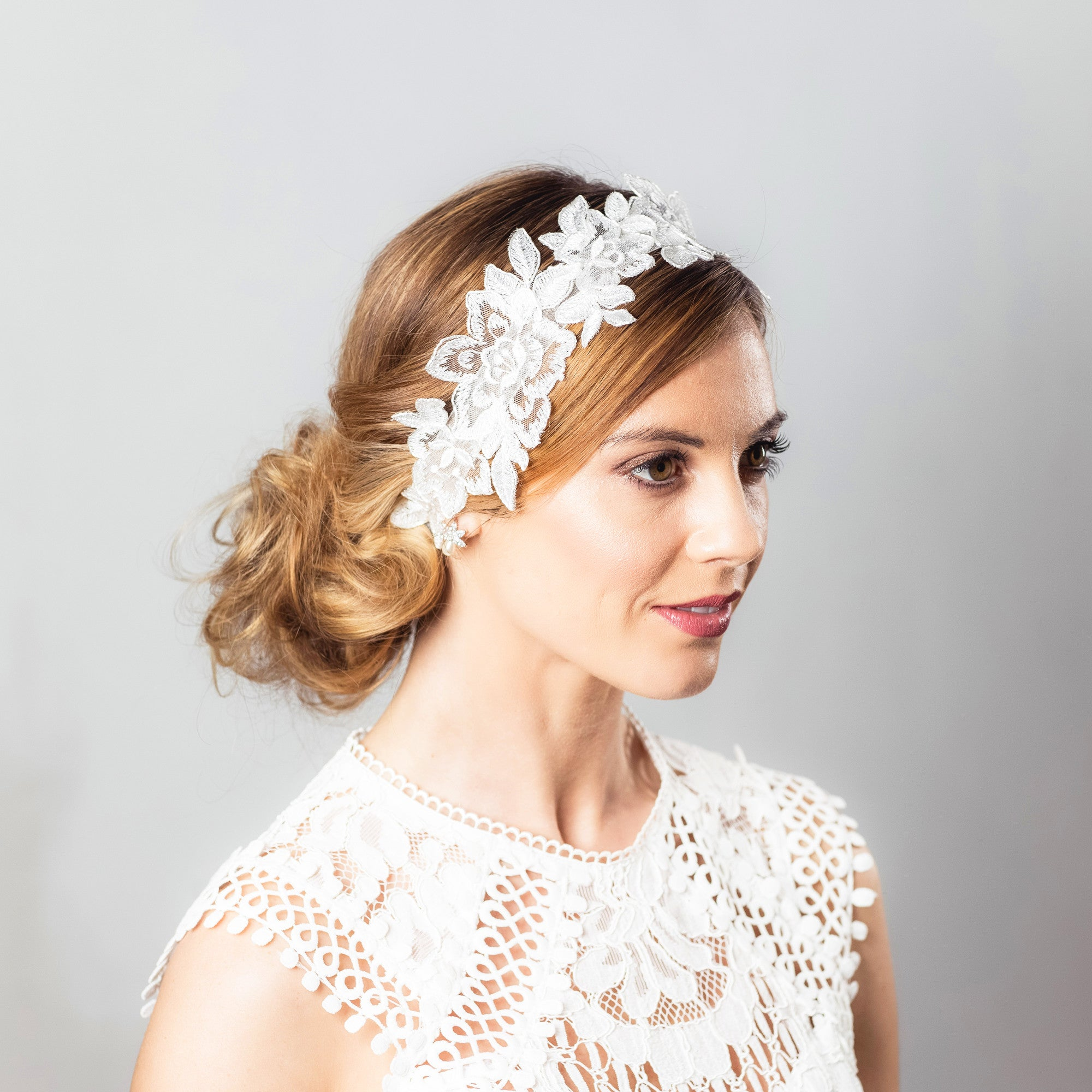 Kimchi lace hairpiece
