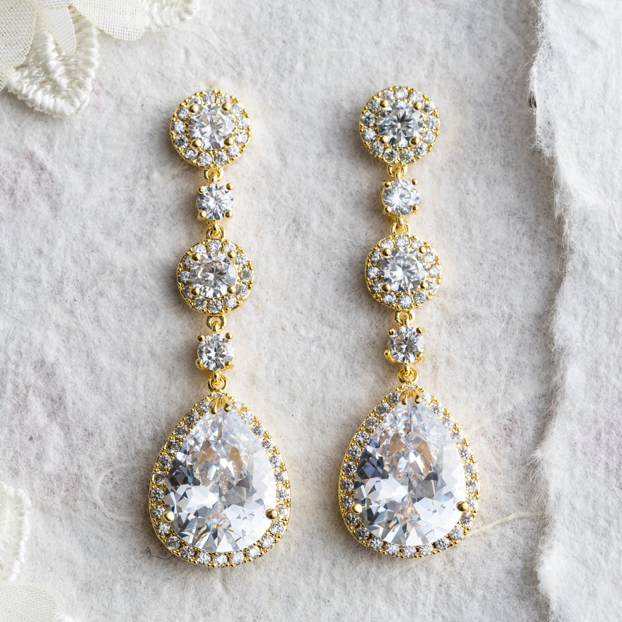 Ayria crystal statement earrings