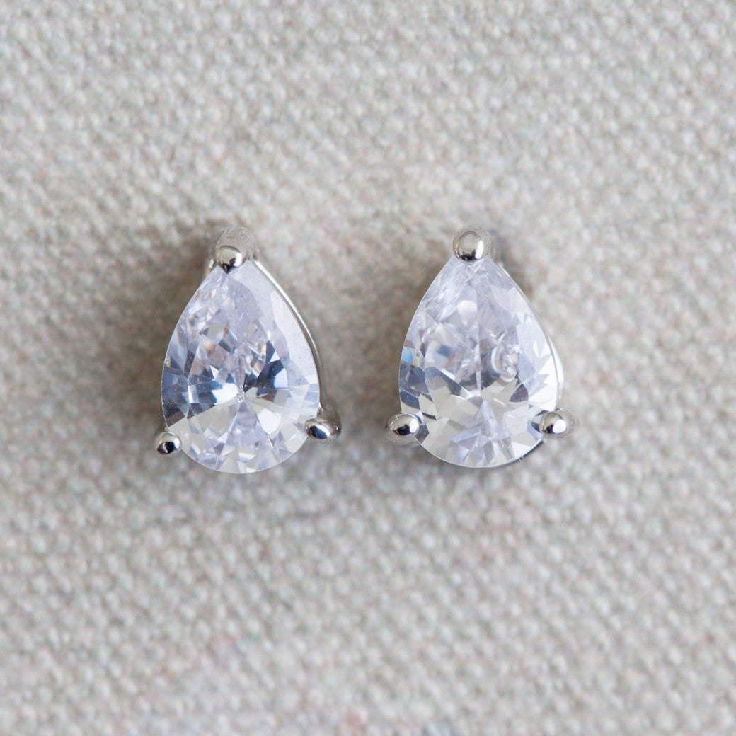Eliana crystal stud earrings