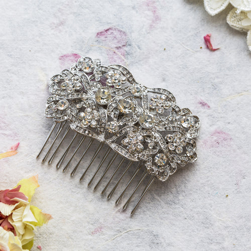 Jilly crystal hair comb