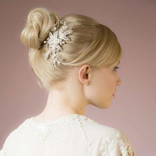 Ophelia crystal hair comb