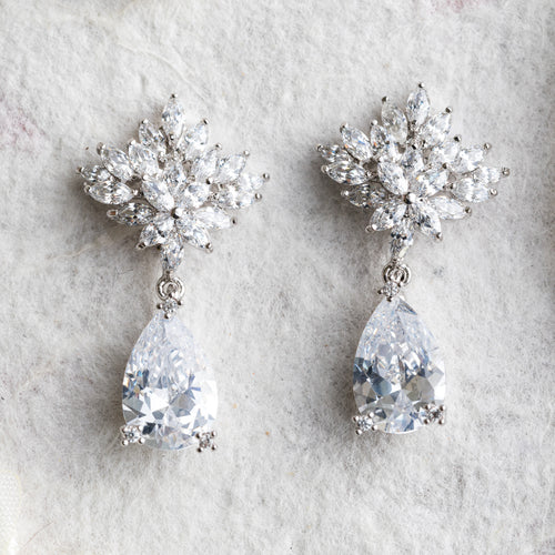 Sasha crystal earrings