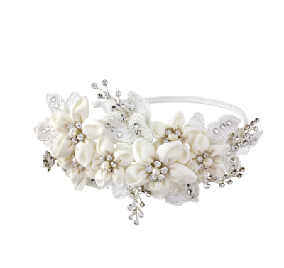 Gracie floral hairband