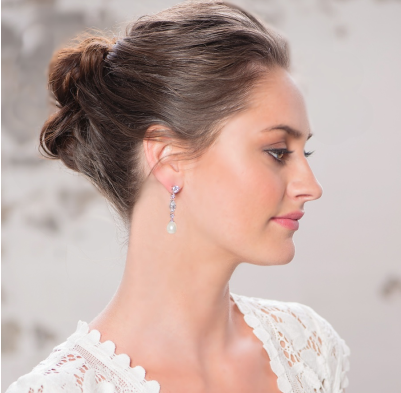 Cora pearl drop earrings
