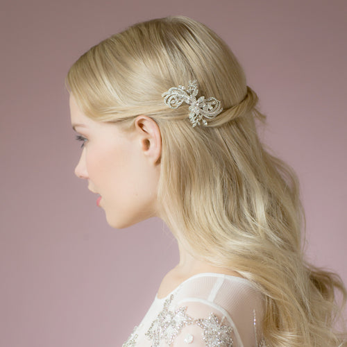 Stella crystal hair comb