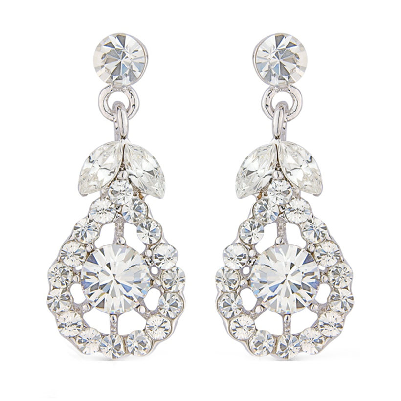 Imani crystal drop earrings