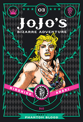 JoJo's Bizarre Adventure: Part 1--Phantom Blood, Vol. 3 by Hirohiko Araki