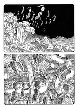 Day of the Flying Head 1 by Shintaro Kago