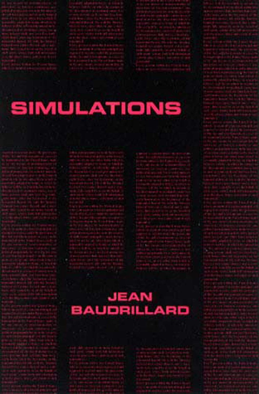 Simulation by Jean Baudrillard
