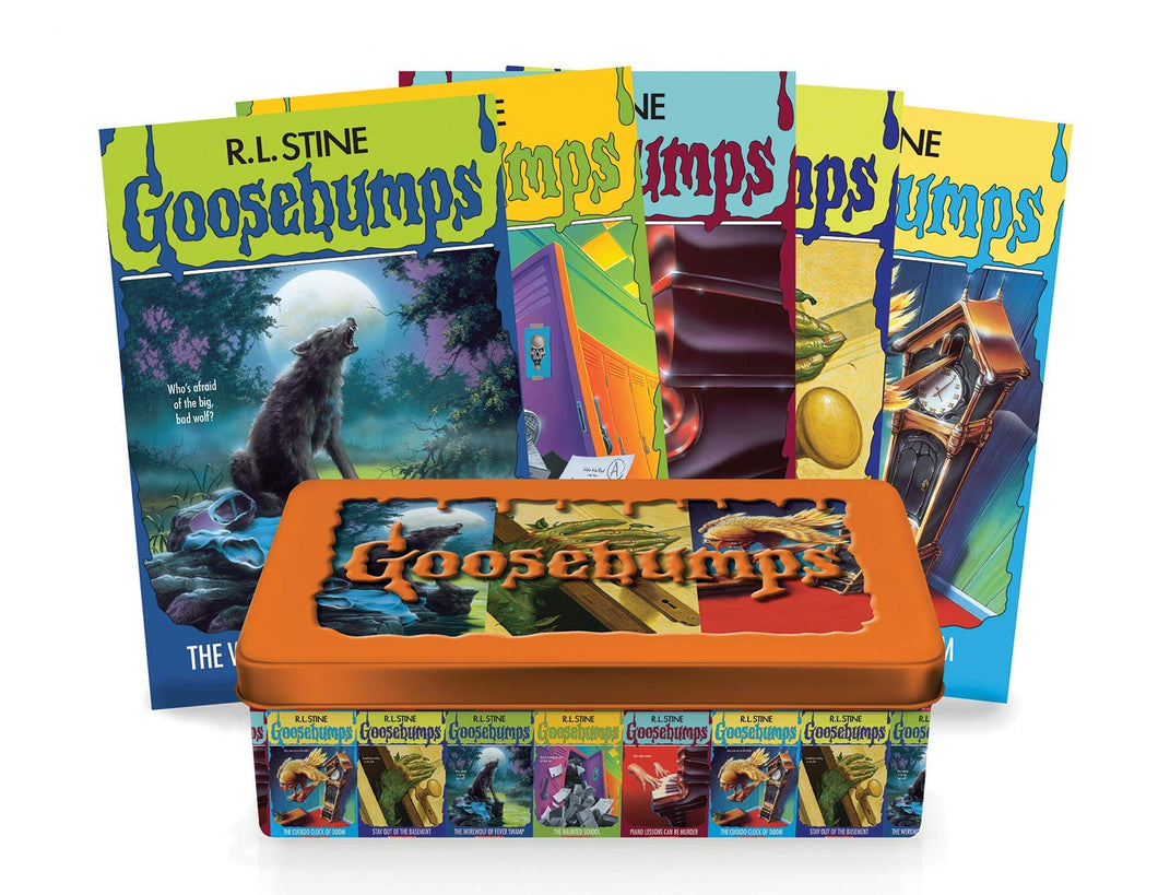 Goosebumps Retro Fear Set: Limited Edition Tin by R. L. Stine