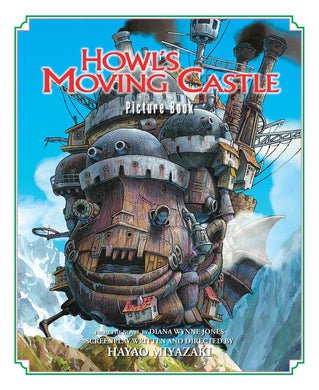 Howl's Moving Castle Picture Book by Hayao Miyazaki