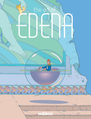 The Art of Edena by Moebius