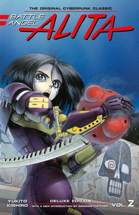 Battle Angel Alita Deluxe Edition 2 by Yukito Kishiro