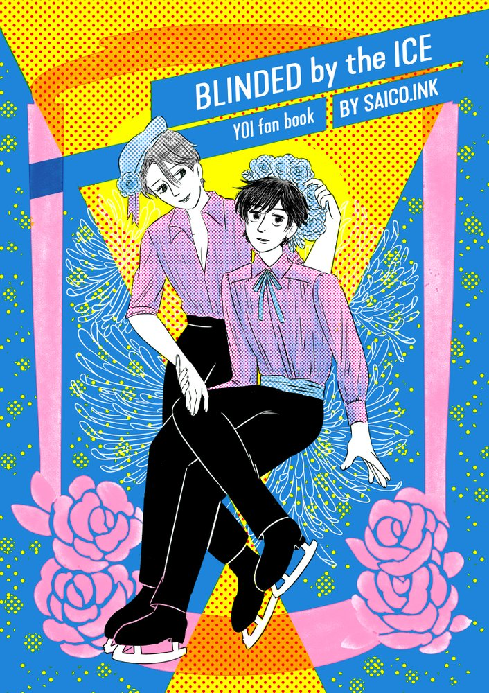 Blinded By the Ice - Yuri!!! on Ice Fanbook by An Nguyen