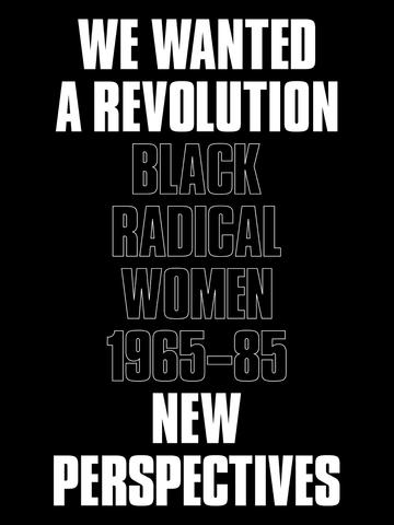 We Wanted a Revolution: Black Radical Women, 1965–85: New Perspectives