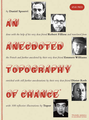An Anecdoted Topography of Chance By Daniel Spoerri