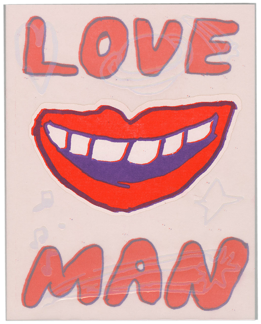 Love Man: Forever and Ever Again by Ben Marcus & David Krueger