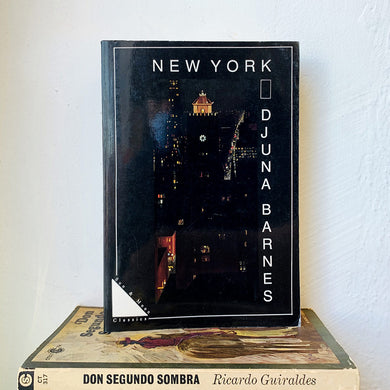 New York by Djuna Barnes