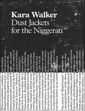 Dust Jackets for the Niggerati by Kara Walker