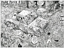 Puke Force by Brian Chippendale