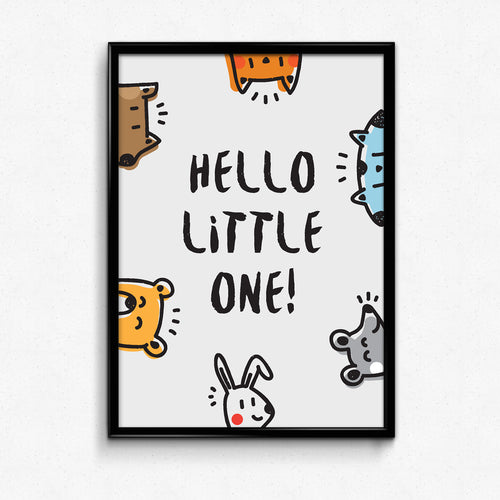 Poster - Hello little one