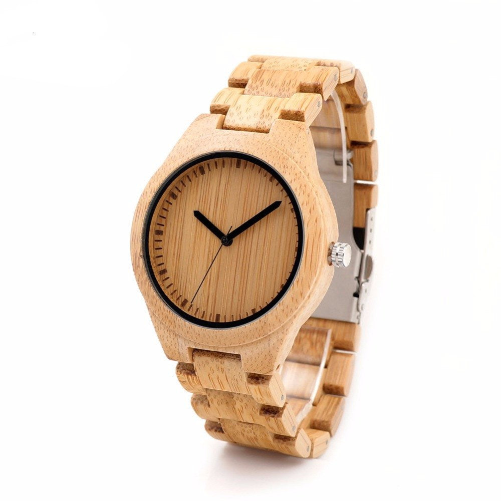 men women watches red bamboo giftse by wrist female product dial black wood quartz fashion creative secondhand watch