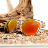 Clear Color Bamboo Glasses
