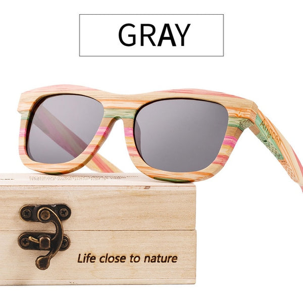 Magic Grains bamboo sunglasses